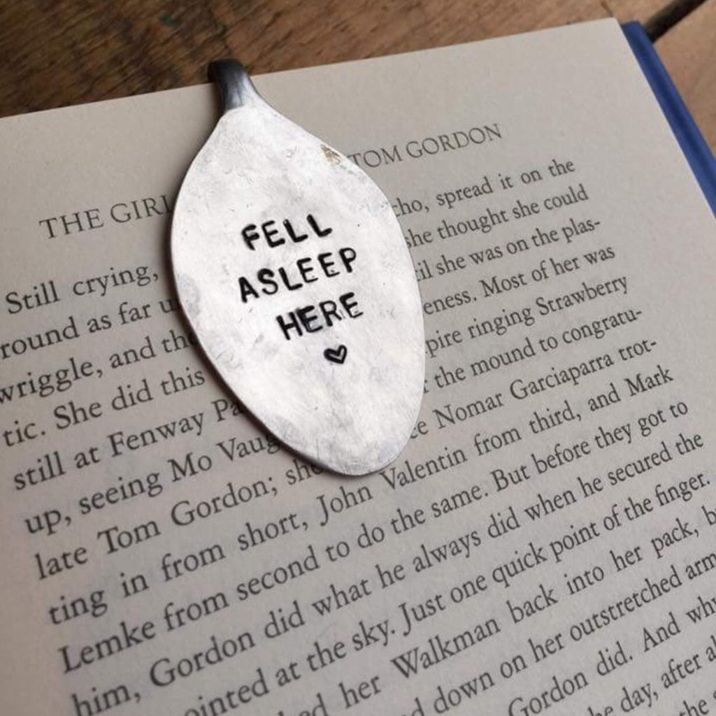 Spoon Bookmark - Custom Hand Stamped