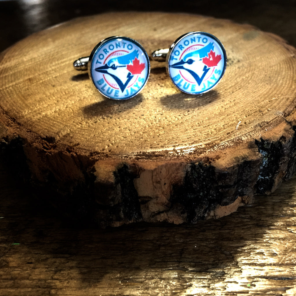 Cuff links - Toronto Blue Jays