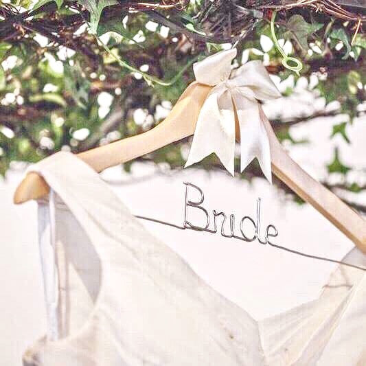 "Wedding Day ""Bride"" Hanger"