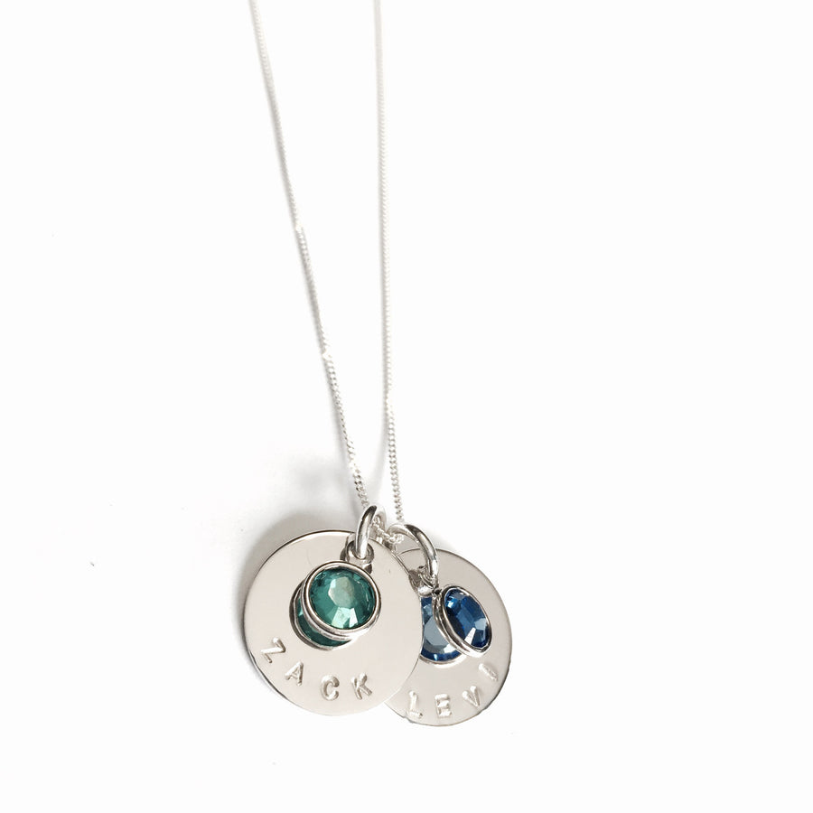 Contagious Designs Signature Charm Necklace