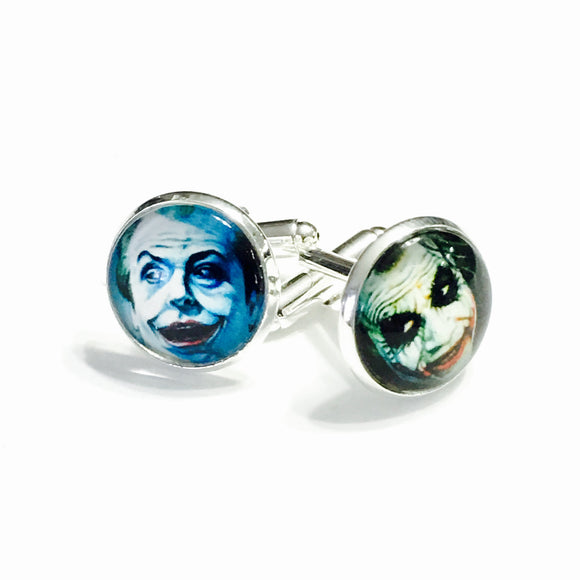 Cuff Links - Joker Faces (Batman)