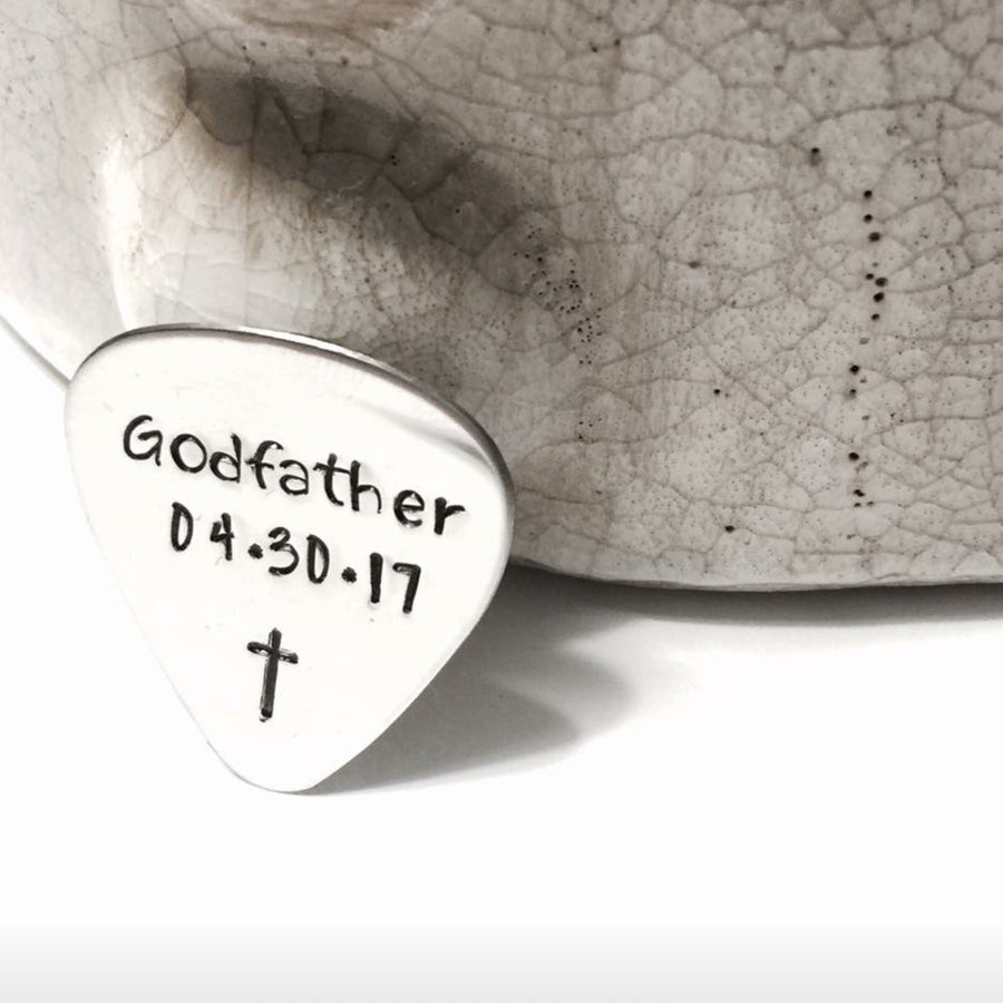 Custom Hand Stamped Guitar Pick