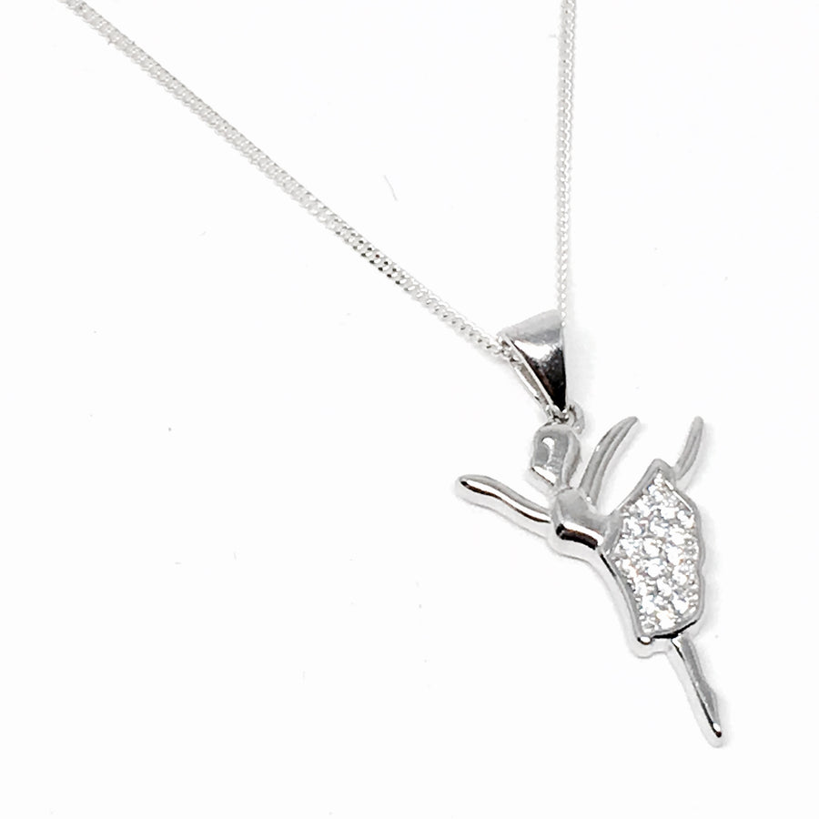 Sterling Silver Stardust Dance Necklace