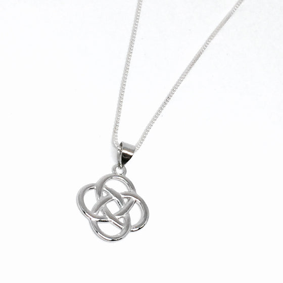 Sterling Silver Celtic Knot Necklace