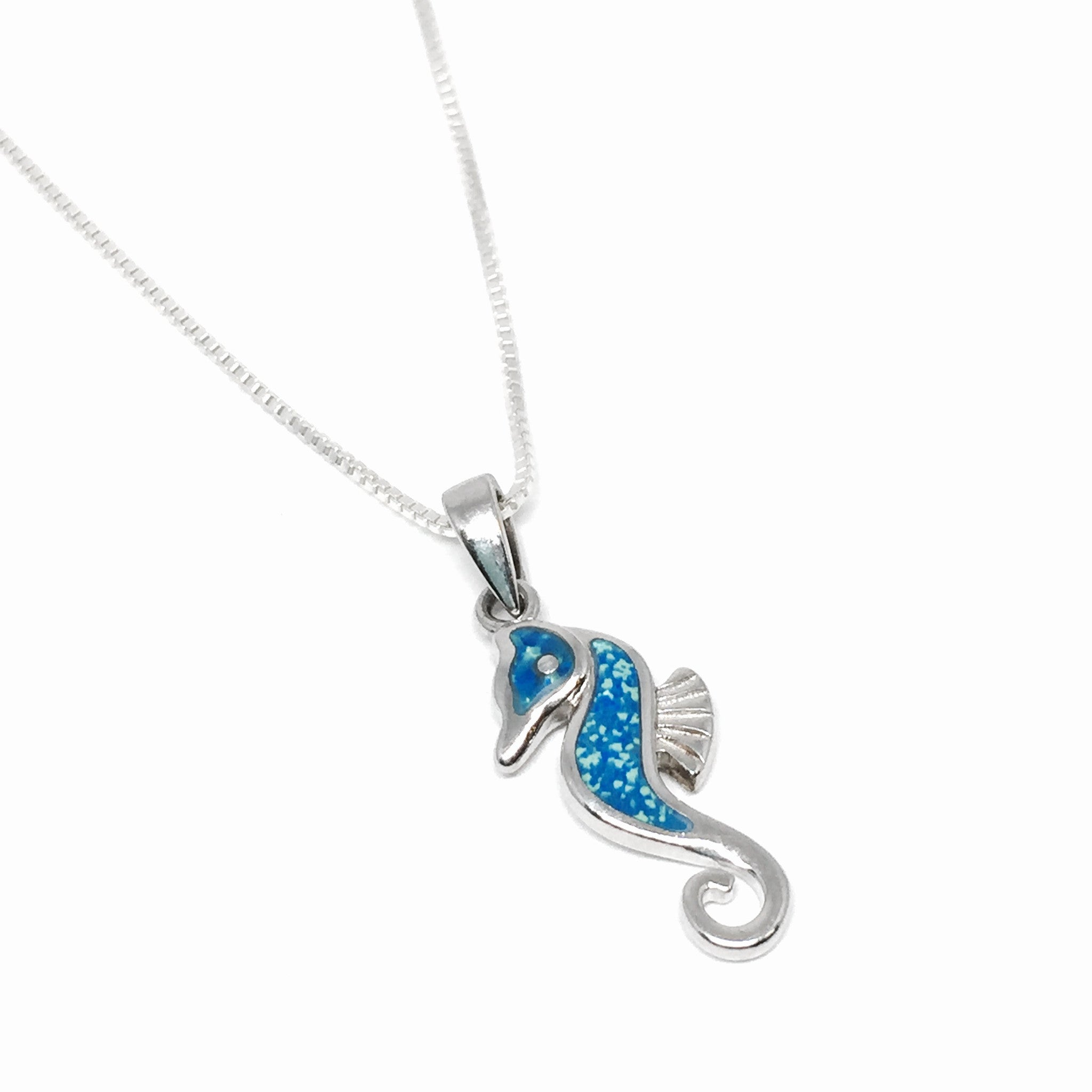 pendants by jewelry secrets pendant sea glass necklace seahorse