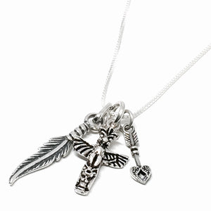 "Sterling Silver ""Free Spirit"" Necklace"
