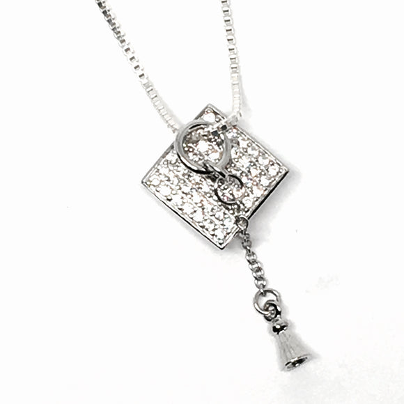 Sterling Silver Graduation Necklace