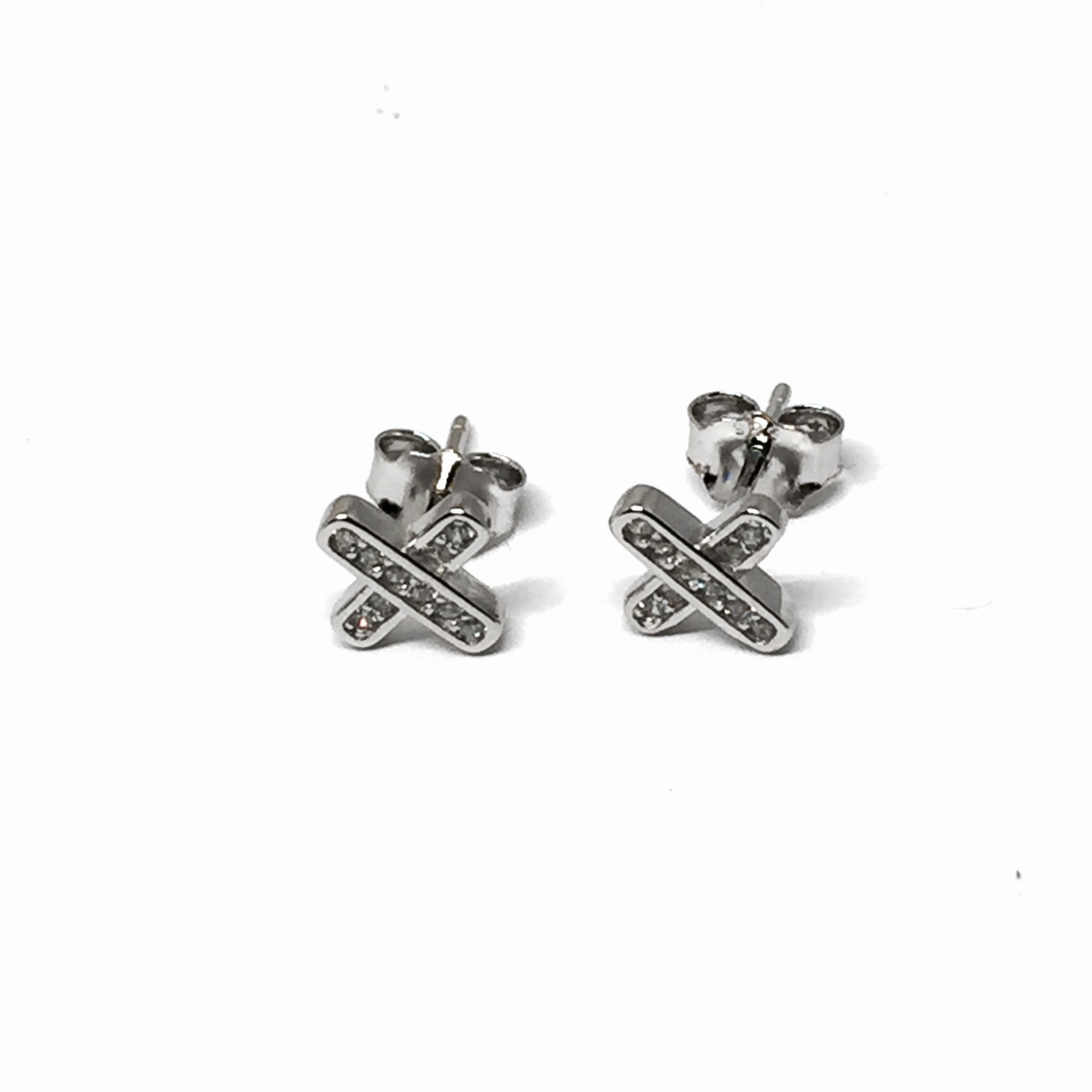 earrings min stud silver juno jewellery georgini