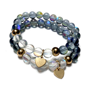 THE MERMAID HEART MALA BRACELET