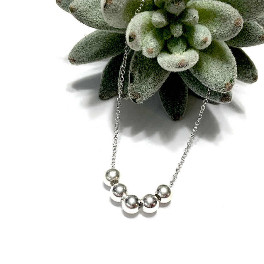 STERLING SILVER SIMPLY SIMPLISTIC NECKLACE