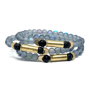 THE NORTHERN LIGHTS BULLETPROOF UNISEX MALA BRACELET
