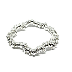Sterling Silver 7mm Links Bracelet