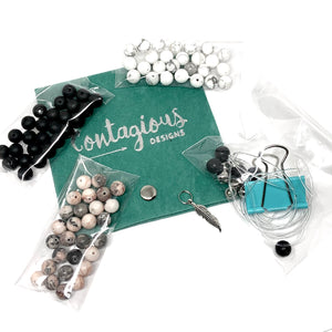 2021 STONE MALA BRACELET DIY TAKE HOME KIT (3 BRACELETS)