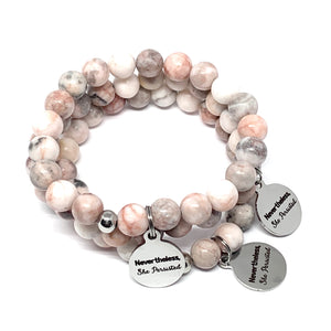 "THE ""NEVERTHELESS, SHE PERSISTED"" MALA BRACELET"