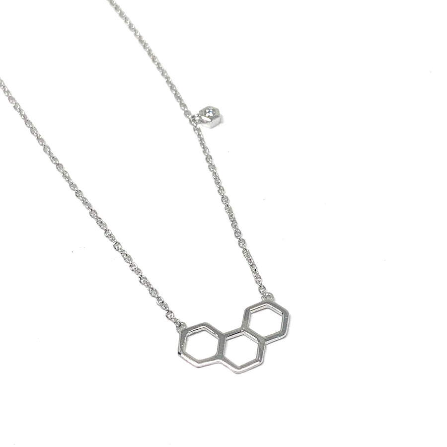 MY HONEY STERLING SILVER NECKLACE