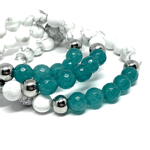 "THE ""EXHALE"" MALA BRACELET"