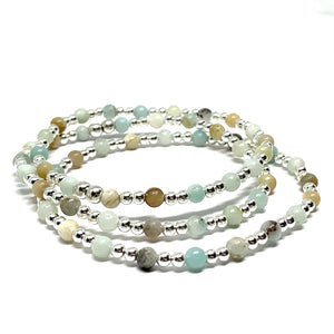 THE STERLING SILVER MINI - MINI MALA BRACELET