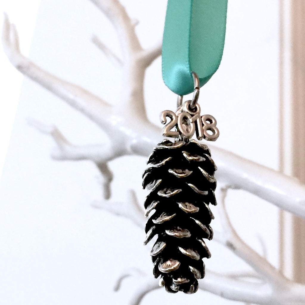 2018 Pine Cone Holiday Ornament