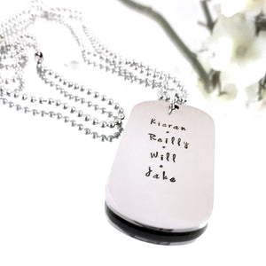 Custom Stainless Steel Dog Tag Necklace