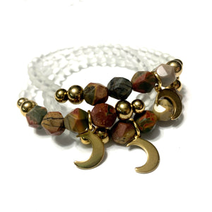 "THE ""HUSH"" MOON MALA BRACELET"