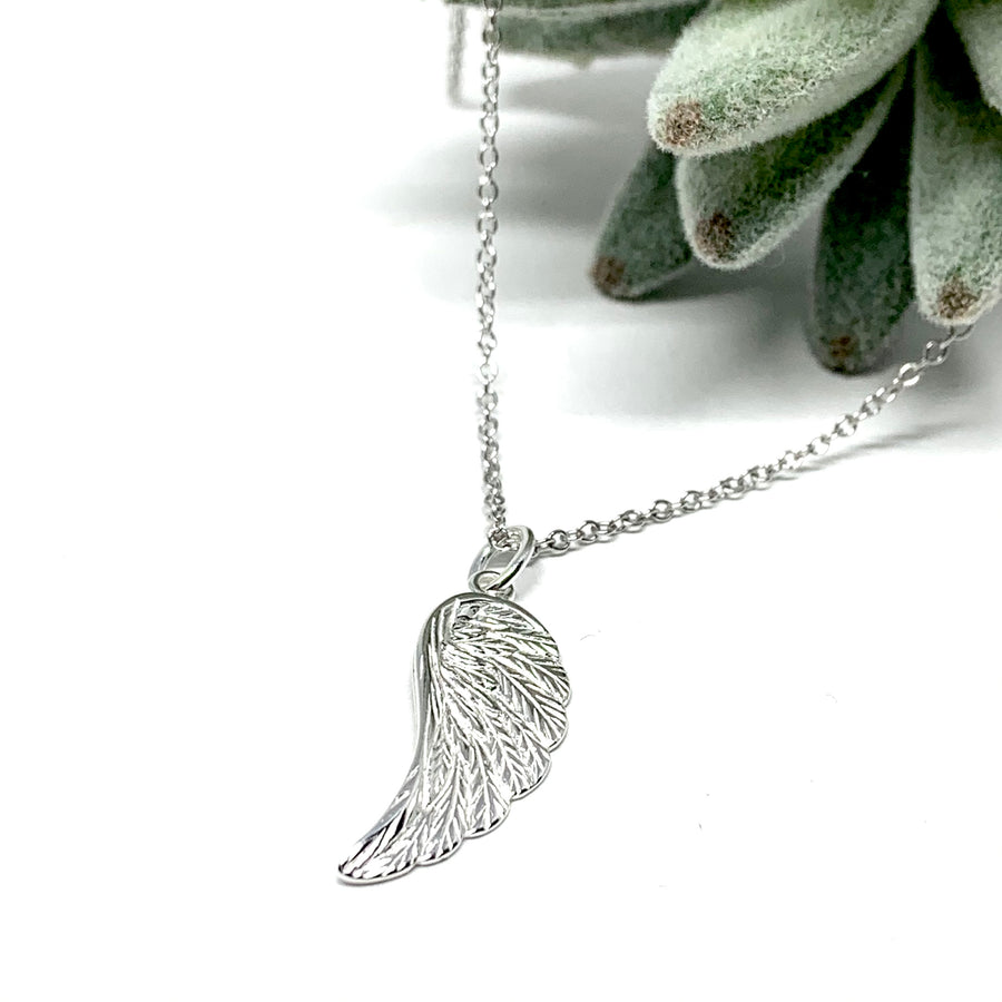 My Angel Sterling Silver Necklace