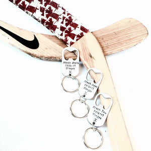 CUSTOM COACH KEY CHAIN