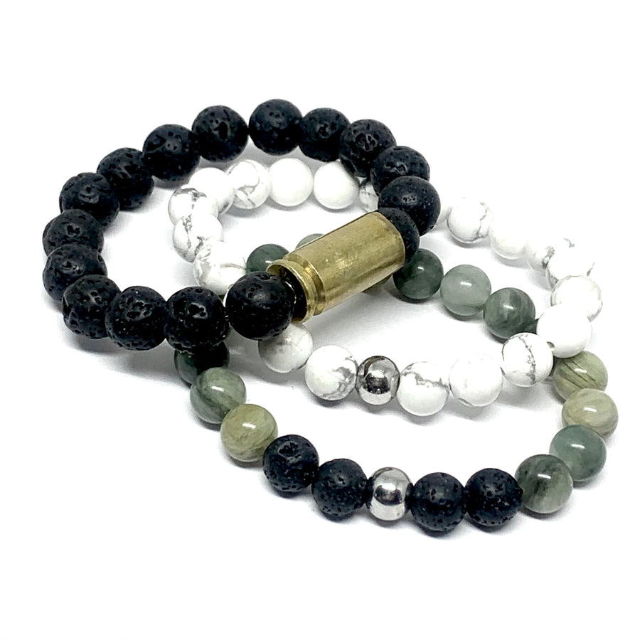 2021 BULLETPROOF STONE MALA BRACELET DIY TAKE HOME KIT (3 BRACELETS)
