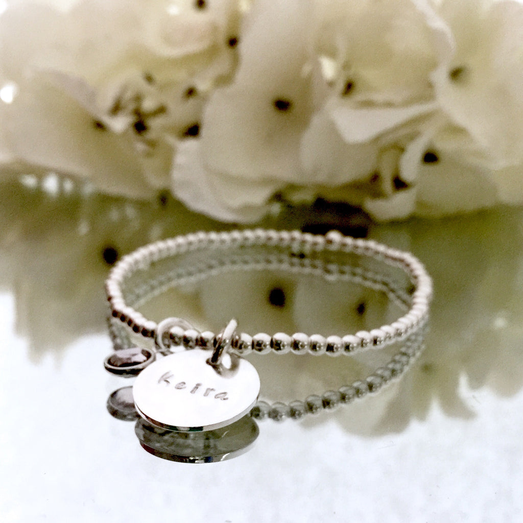 "THE ""TRIBUTE"" STERLING SILVER BRACELET"