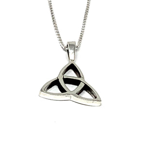 Sterling Silver Celtic Triquetra Necklace