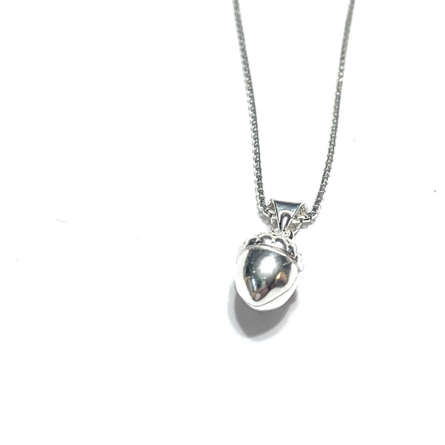 """MY LITTLE ACORN"" STERLING SILVER NECKLACE"