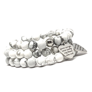 "THE ""ALWAYS REMEMBERED"" MALA BRACELET"
