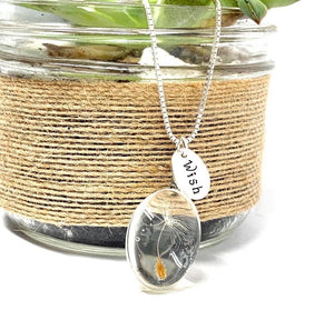 OVAL WISH NECKLACE!!