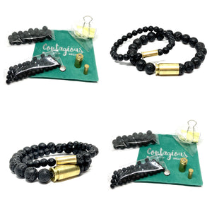 2021 HIS & HERS BULLETPROOF STONE MALA BRACELET DIY TAKE HOME KIT (2 BRACELETS)