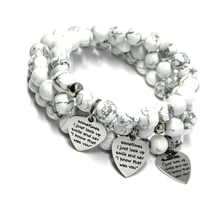 MY ANGEL IN HEAVEN MALA BRACELET