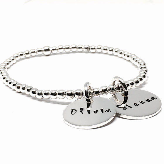 "THE ""ACCLAIM"" STERLING SILVER BRACELET"