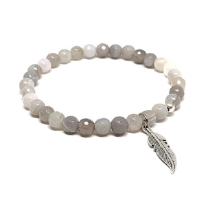 STONE MALA BRACELET DIY TAKE HOME KIT THREE (3 BRACELETS)