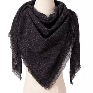 BLANKET SCARF - BLACK STALLION