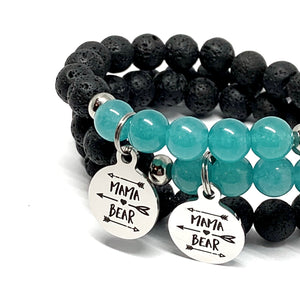 FOLLOW THE MAMA BEAR MALA BRACELET