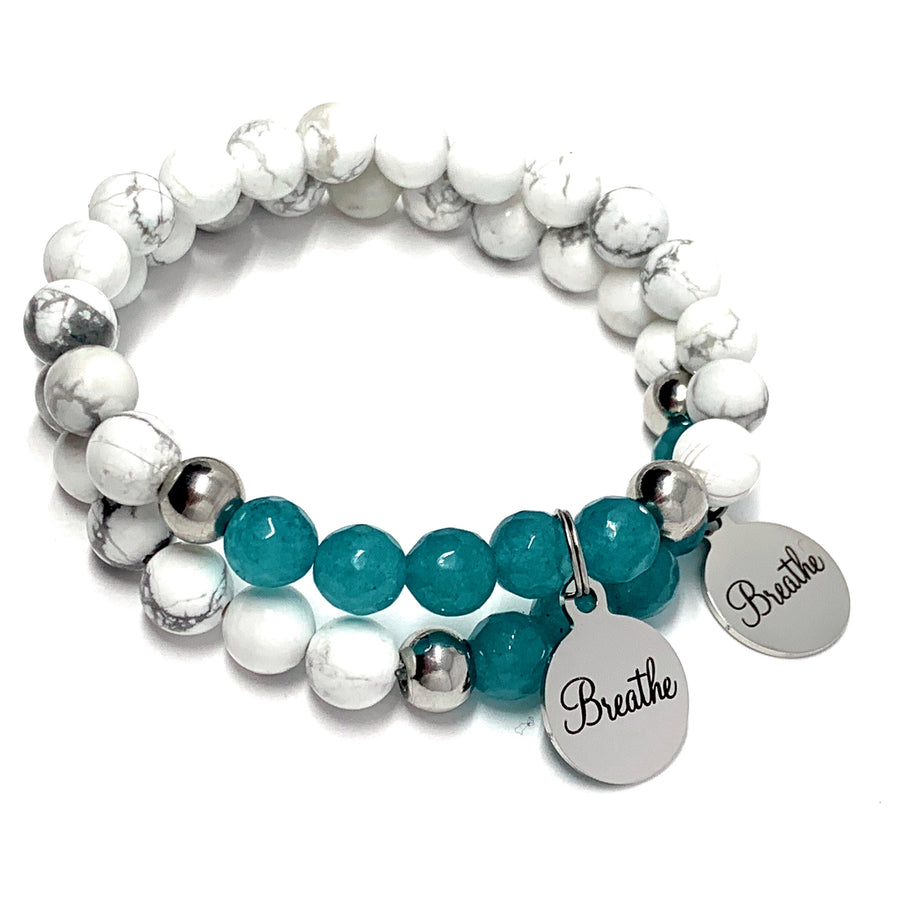 "THE ""BREATHE"" MALA BRACELET"