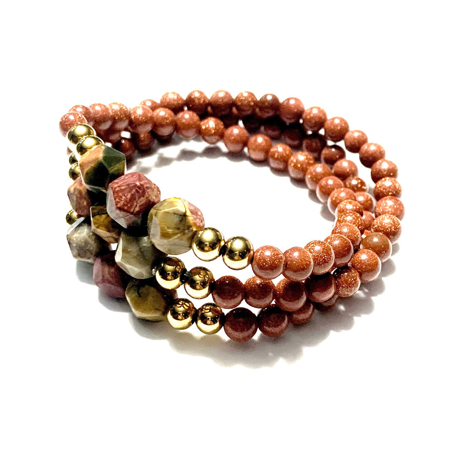THE CHESTNUT MALA BRACELET