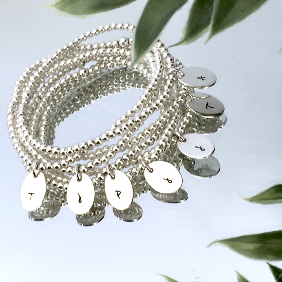 "THE ""SIMPLY STATED"" STERLING SILVER BRACELET"