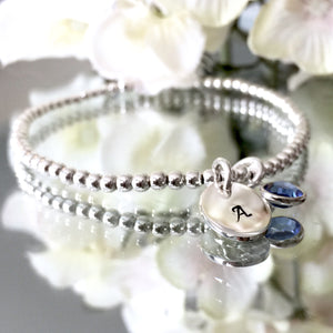 "THE ""CHERISH"" STERLING SILVER BRACELET"