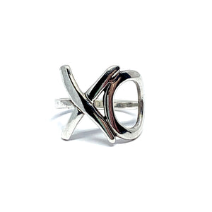 THE XO STERLING SILVER RING