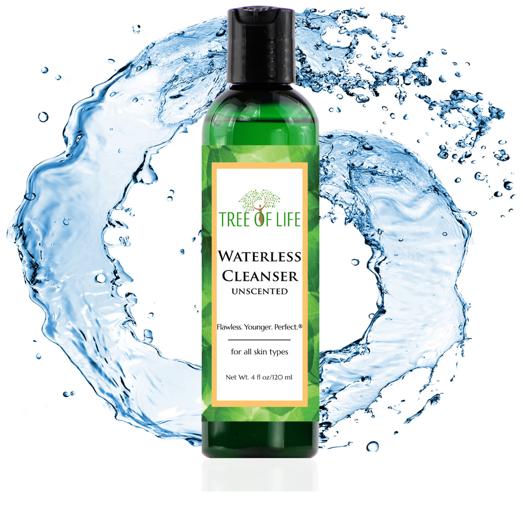 Unscented Waterless Cleanser 4oz