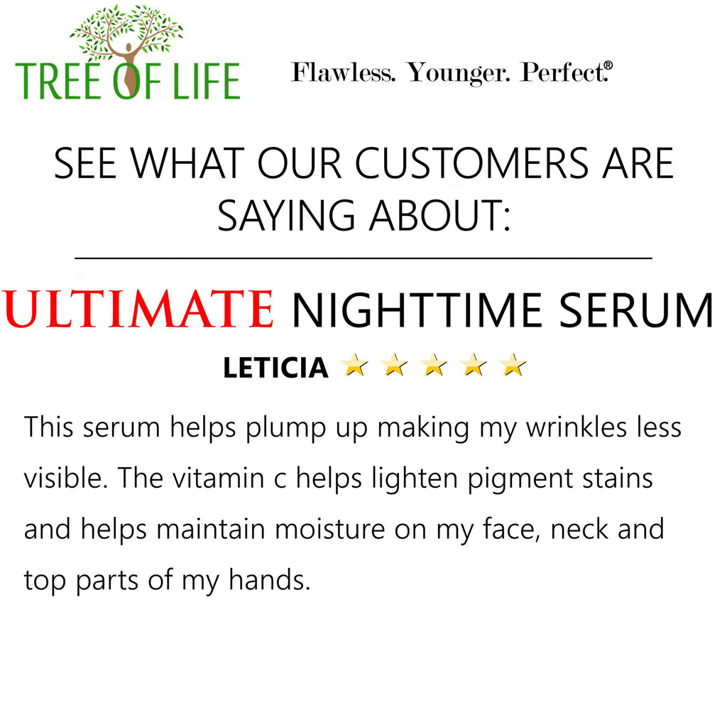 Tree of Life Beauty Ultimate Nighttime Serum Review