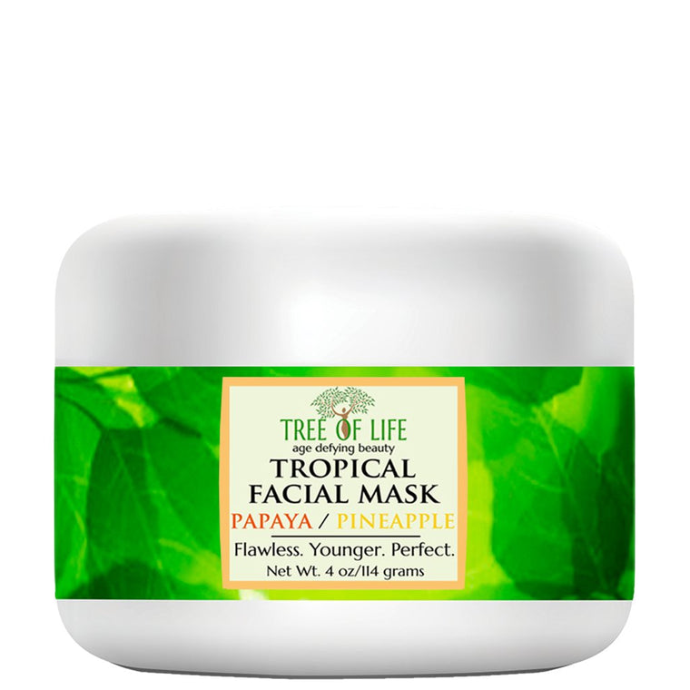 Tree of Life Beauty Papaya & Pineapple Facial Mask