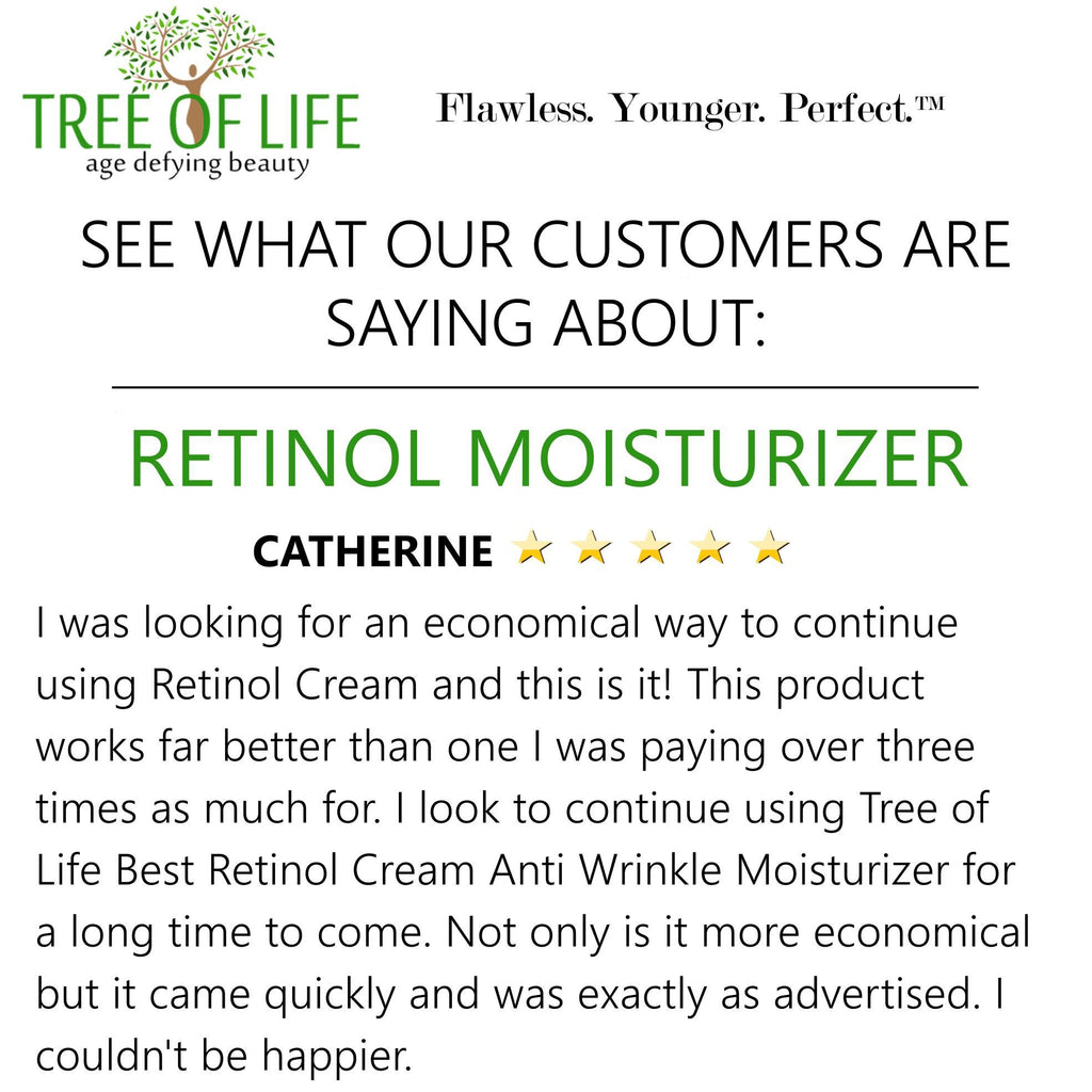 Tree of Life Retinol Moisturizer Cream Review