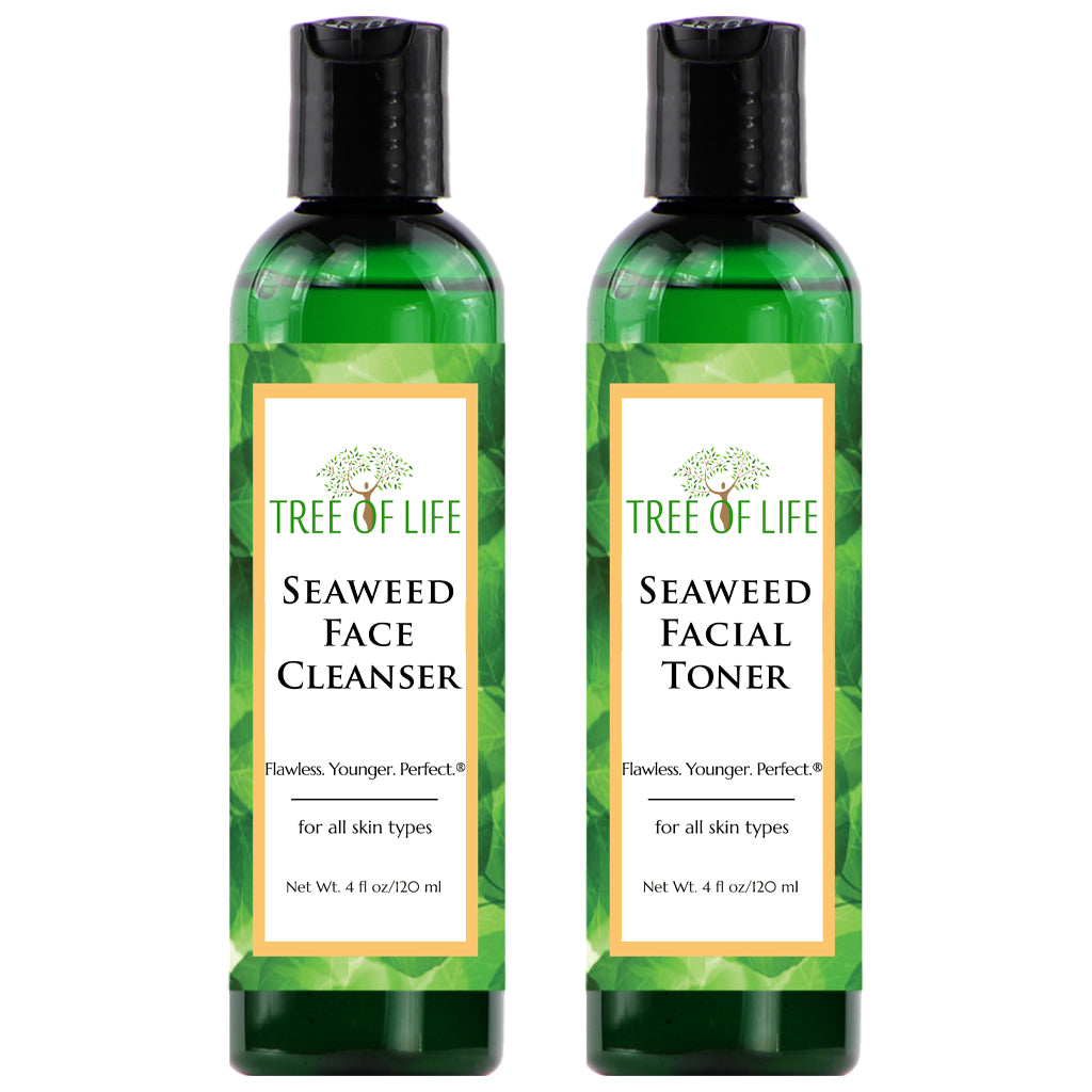 Tree of Life Beauty Seaweed Facial Cleanser and Toner 2 - Pack