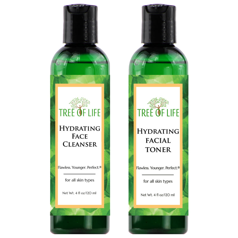 Tree of Life Beauty Hydrating Cleanser and Toner 2 - Pack