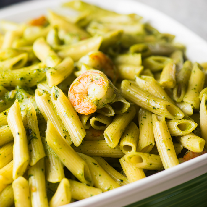 Shrimp & Pesto Penne